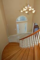 Curved Stair case