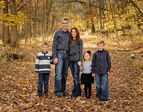 Cedar Rapids Family Pictures